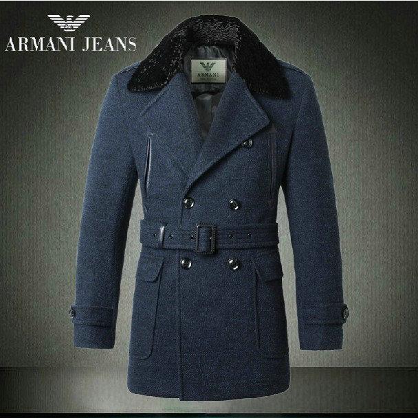manteau homme armani pas cher Pas Cher Collections soldes manteau ... f4853f72b94